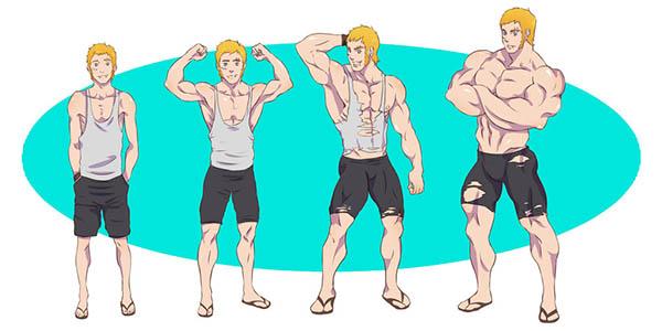 Како до зголемување на мускулна маса?
